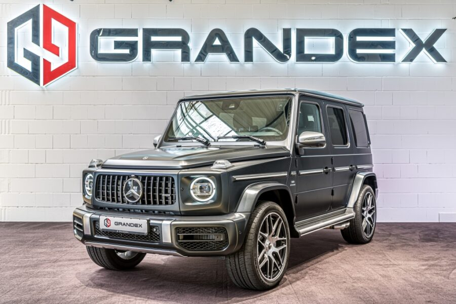 Mercedes-Benz G 63 AMG STT*4-Seats MBS*Rear Massage*Burmester