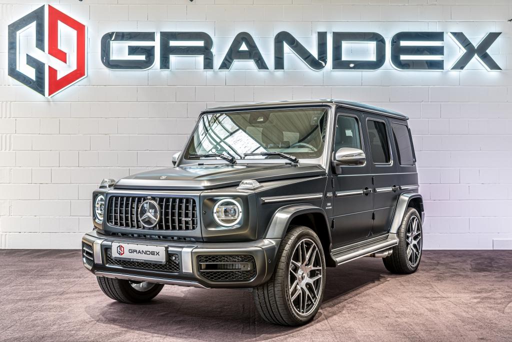 Mercedes-Benz G 63 AMG STT*4-Seats MBS*Rear Massage*Burmester