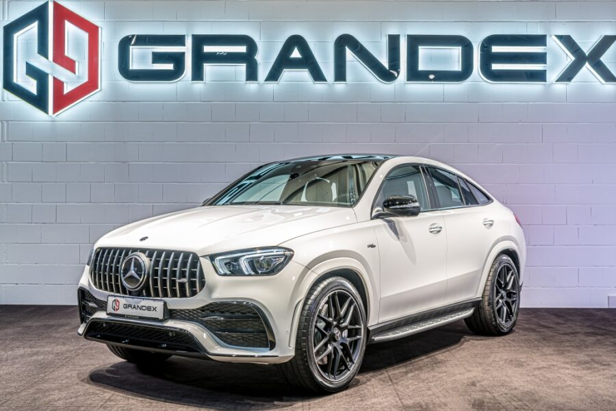 Mercedes-Benz GLE 53 AMG 4M*COUPE*Burmester*Night Pack*Red Int