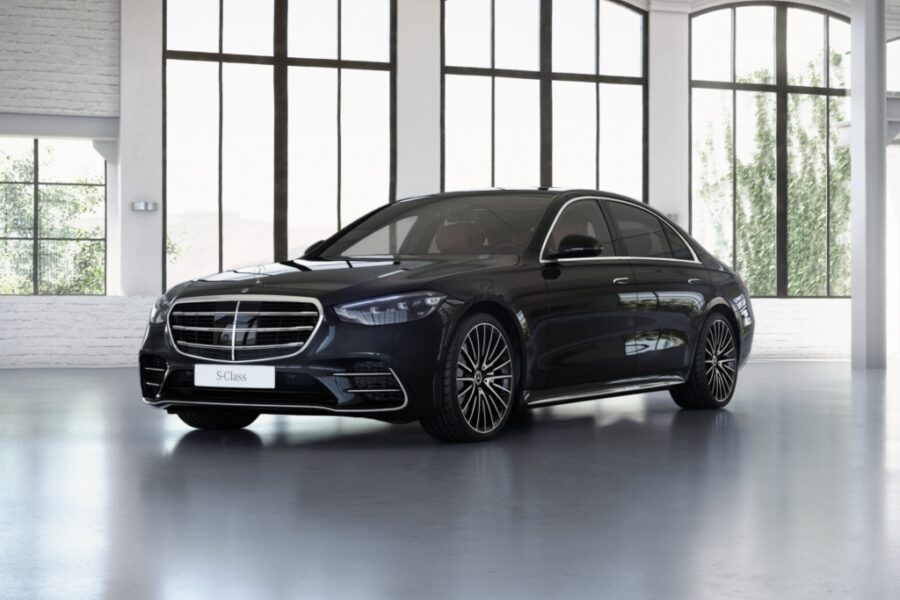 Mercedes-Benz S 400 d*4M*Long*4 Seat*Burmester 3D*Brown Inter.