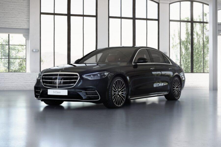 Mercedes-Benz S 500 4M*Long*4 Seats*Burmester*Red Interieur