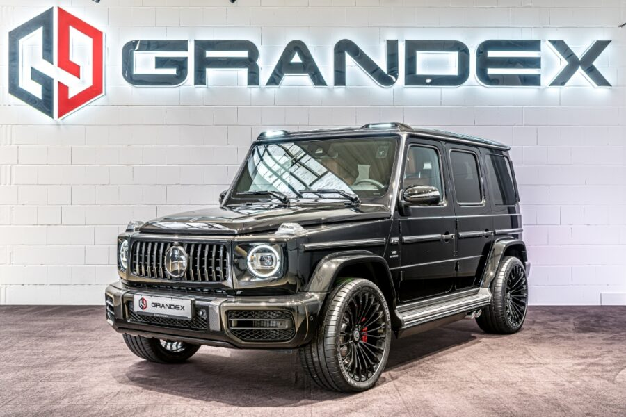 Mercedes-Benz G 63 AMG *HOFELE Design*MBS 4-Seats*Rear TV