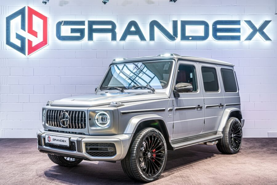 Mercedes-Benz G 63 AMG *HOFELE*Night-Paket*LED Roof Bar*R22