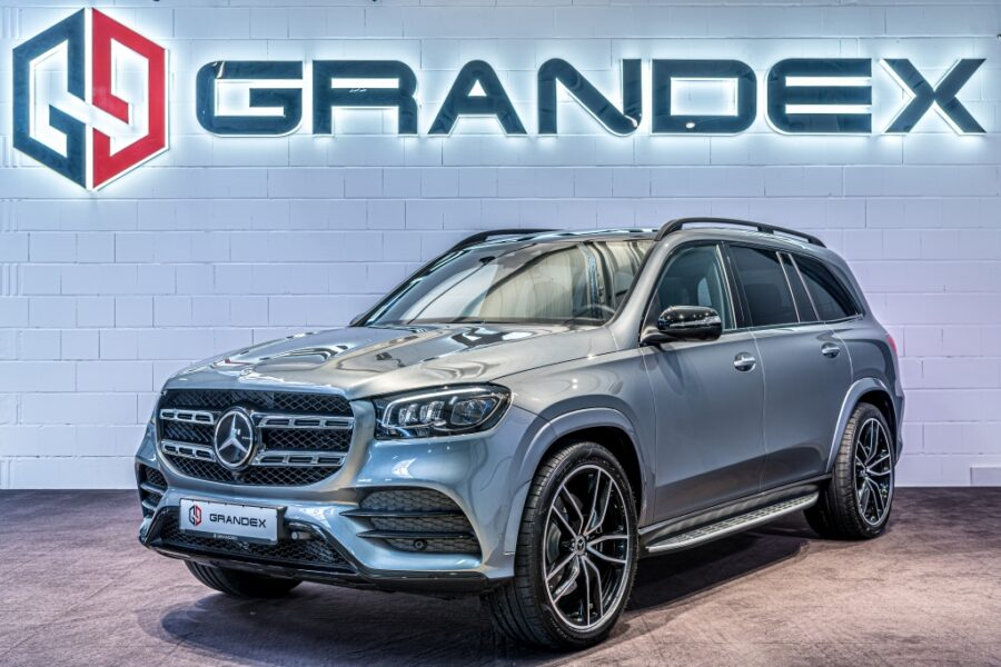 Mercedes-Benz GLS 400 d*AMG Line*E-ACTIVE BODY*Carbon*Fond TV