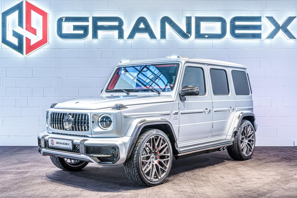 Mercedes-Benz G 63 AMG *HOFELE*4-Seats*R24*Red Int*Carbon