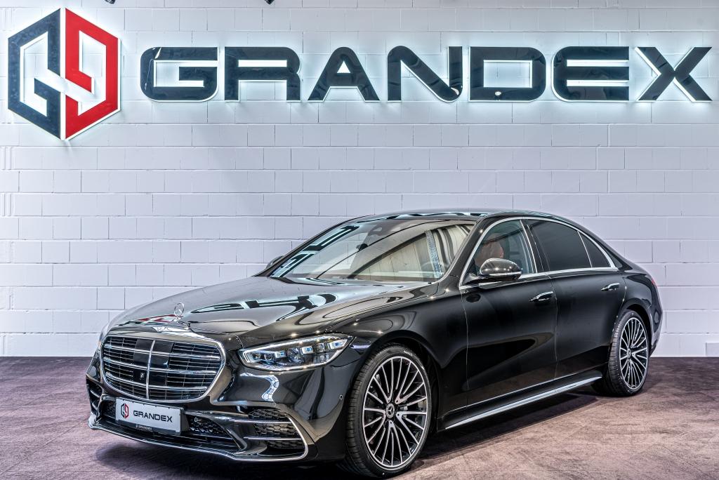 Mercedes-Benz S 400 d*4M*Long*4 Seat*Burmester 3D*Brown Inter.